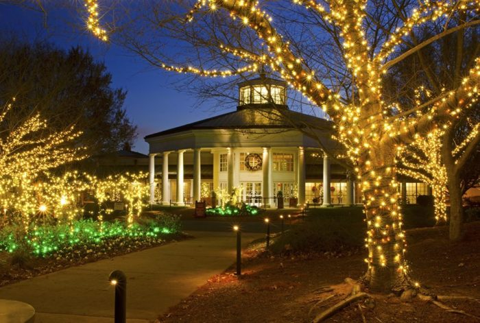 10 underrated places in north carolina you 39 ll want to visit - Daniel stowe botanical garden christmas ...