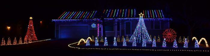 The Christmas Lights Road Trip Through Kansas That's Nothing Short  - Christmas Lights Wichita Ks