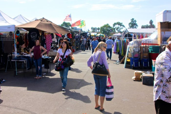Swap meets in the inland empire