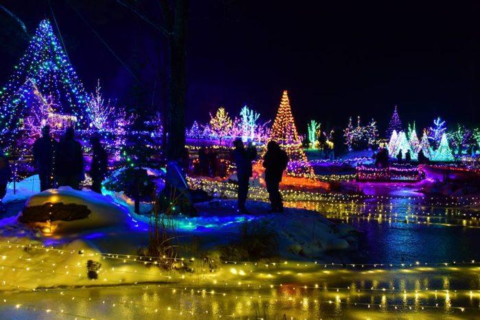 Portland Maine Christmas.11 Best Christmas Light Displays In Maine 2016