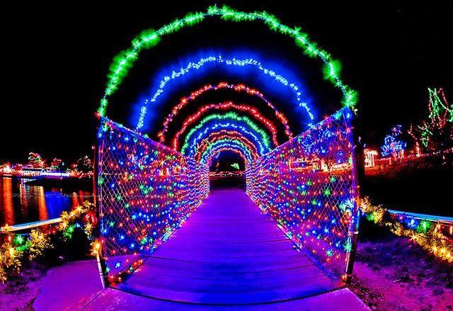 the magical christmas lights road trip through oklahoma - Chickasha Christmas Lights