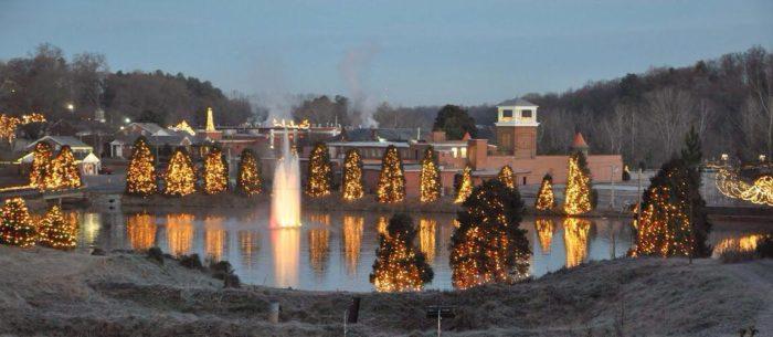 Christmas Lights Nc