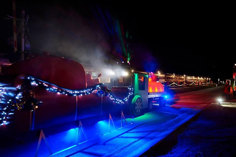 ohio polar express train ride  cuyahoga valley scenic railroad