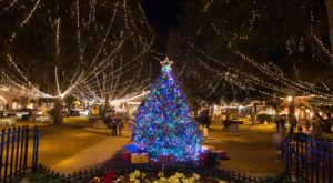 The One Town In Florida That Turns Into A Winter Wonderland Each Year