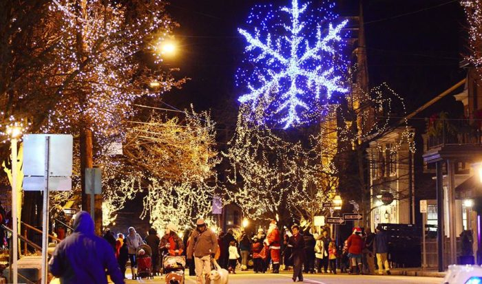 Christmas In The City Village