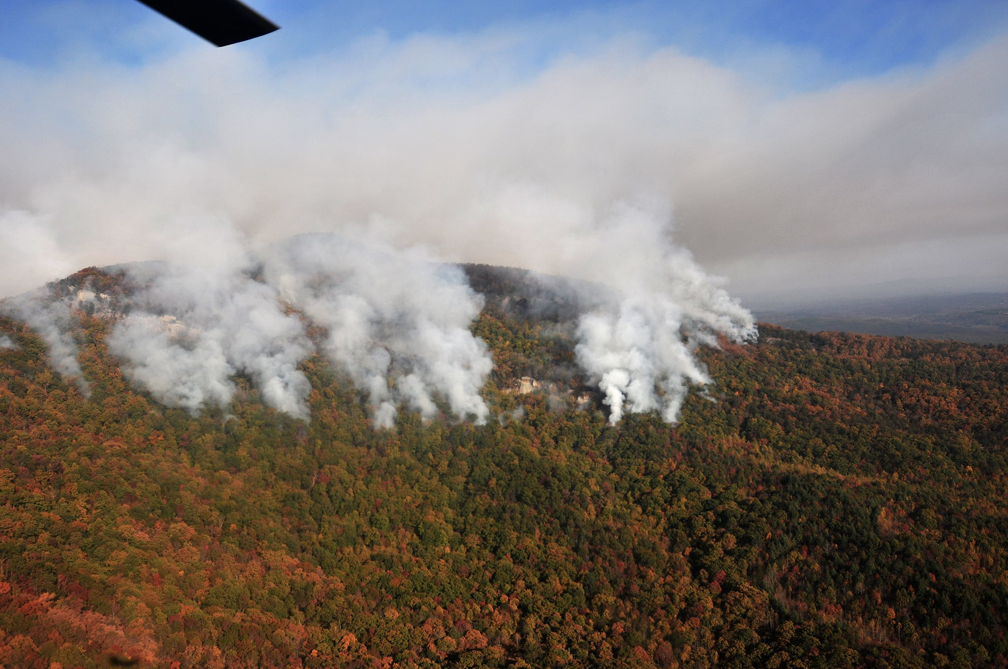 Wildfires Are Lapping At South Carolina S Most