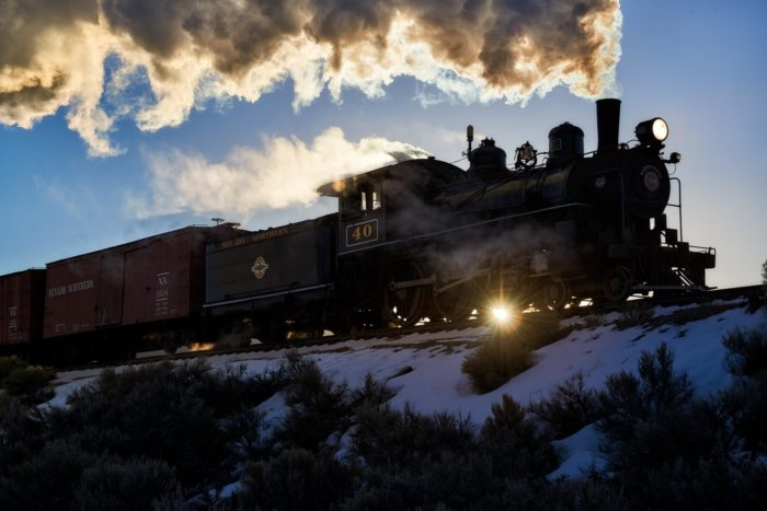 Northern Nevada Railway Polar Express