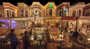 The Festive Street In Maryland That's Straight Out Of A Christmas Movie