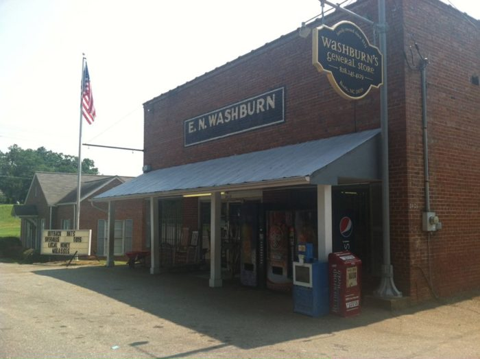 Washburn S General Store Is The Oldest General Store In