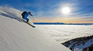 The Longest Vertical Ski Drop In North America Is Right Here In Wyoming