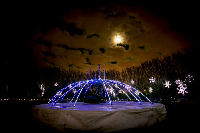 11 best christmas light displays in wisconsin 2016 - Green bay botanical gardens christmas lights ...