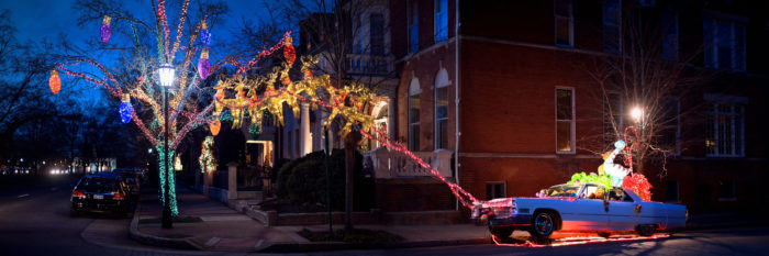 Newport News Va Christmas Light Tour