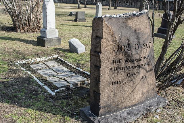 Joc-O-Scot headstone - Creepy Cleveland