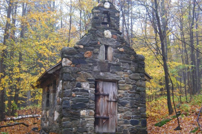 The Von Trapp Chapel In Vermont Is Located In The Most ...