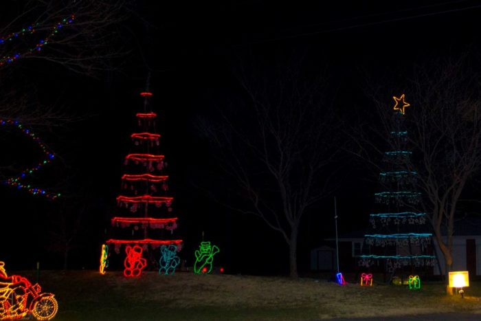 The Christmas Lights Road Trip Through Kansas That S