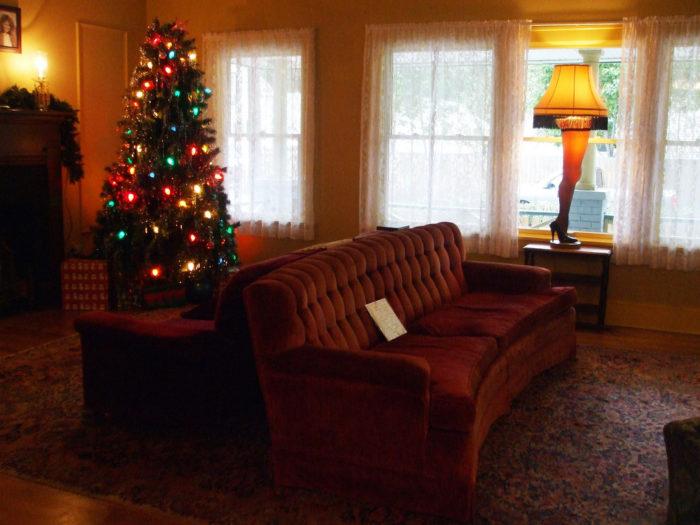A Christmas Story House interior