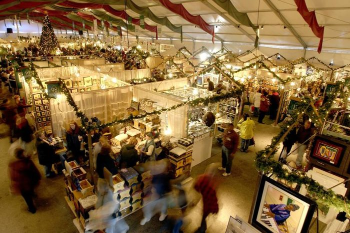 10 things you must do at christmas in pennsylvania for St charles craft show 2017