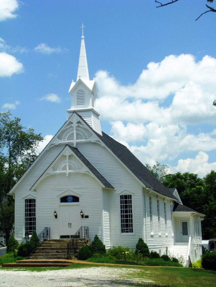 Metal Church Building Pictures