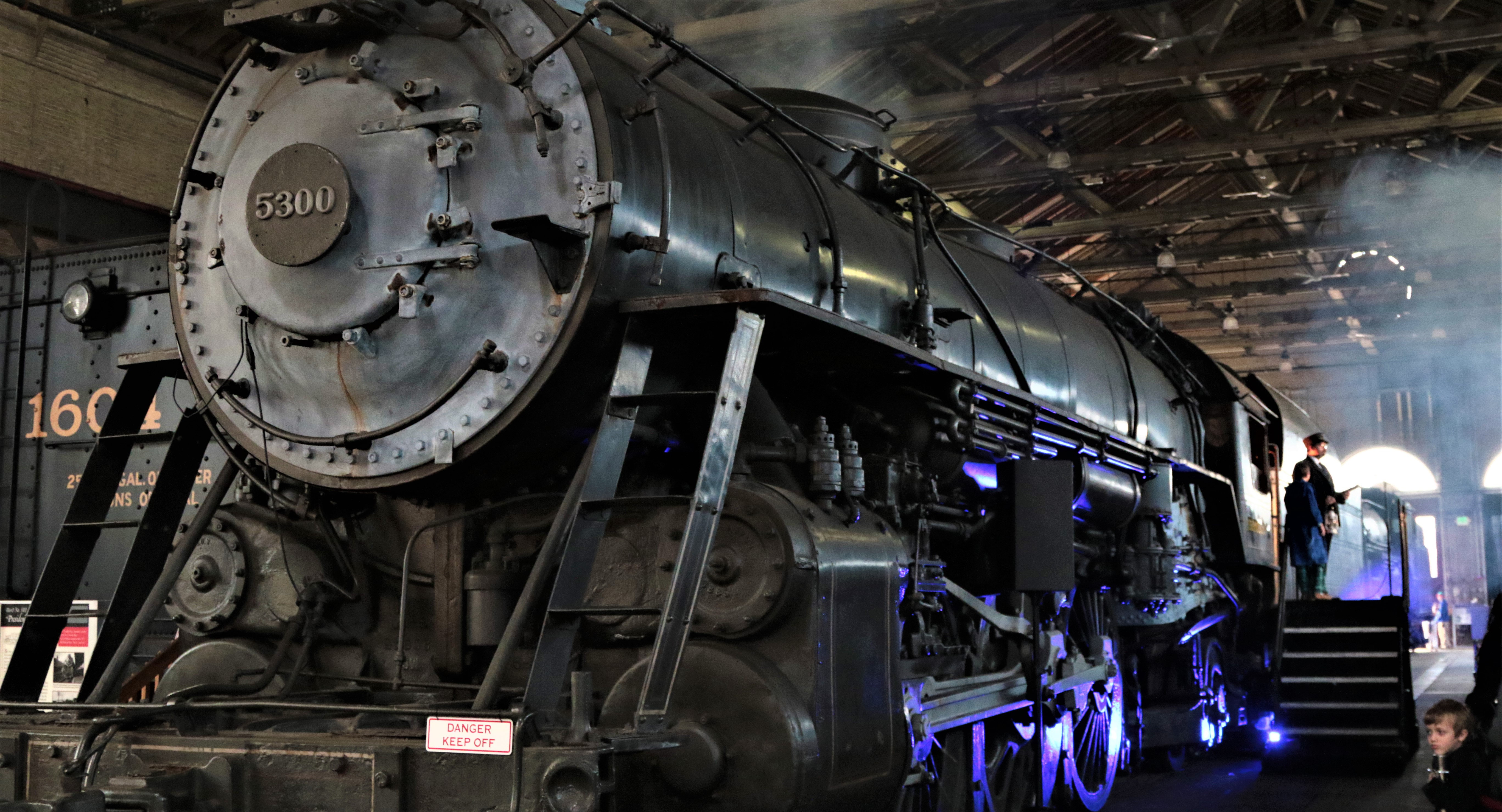 the magical polar express train ride in maryland