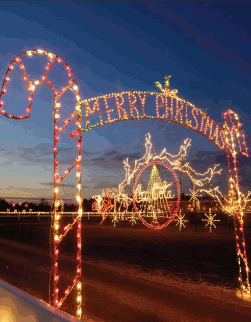 Benson Christmas Lights