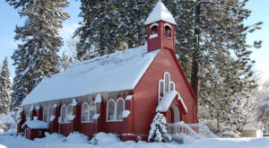 This Idaho Chapel Looks Like Something Off Of A Postcard