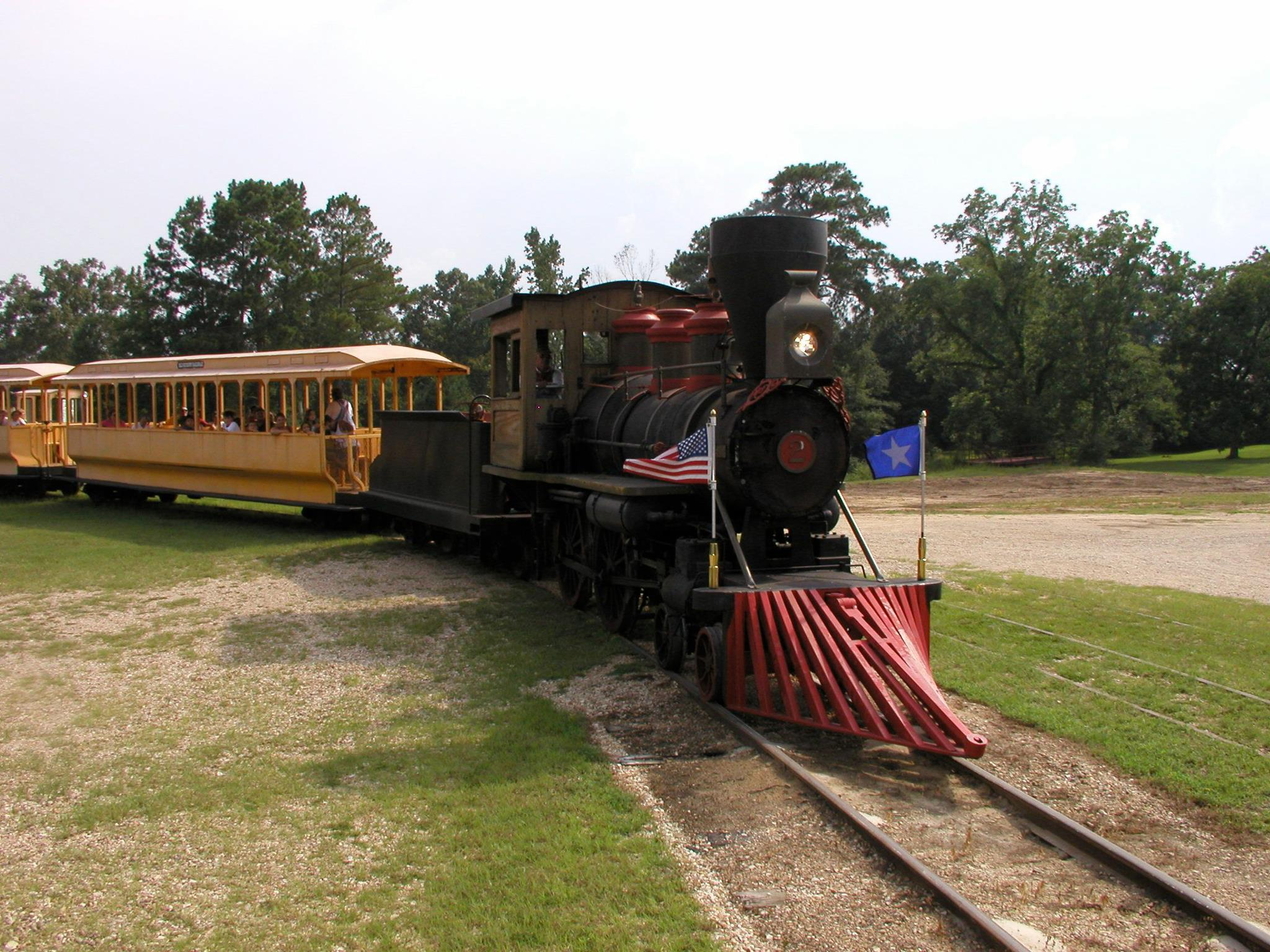 Ride The Old Hickory Railroad In Jackson Louisiana
