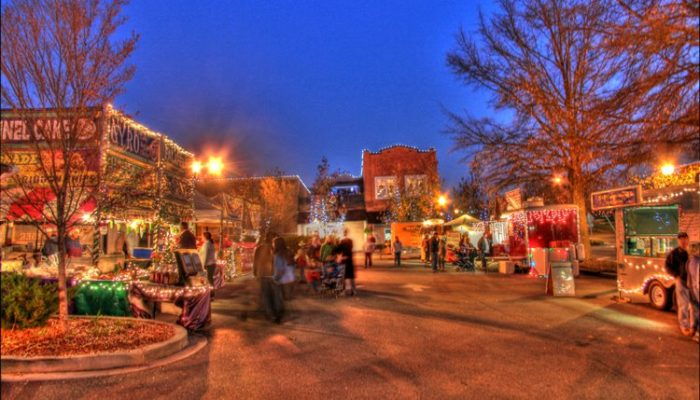 christmasville in south carolina is a magical winter wonderland