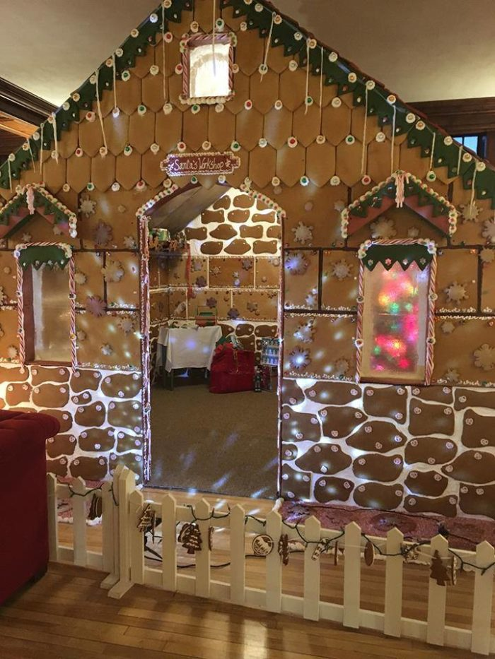 how to make a giant gingerbread house