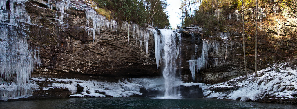 The Most Spectacular Winter Hiking Trail In Georgia