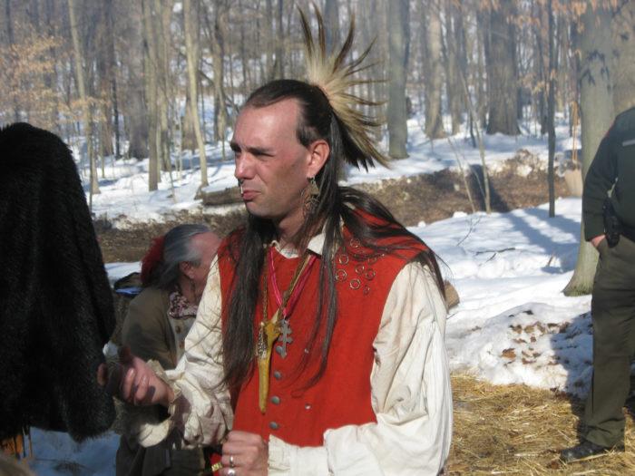 Native American syrup walk