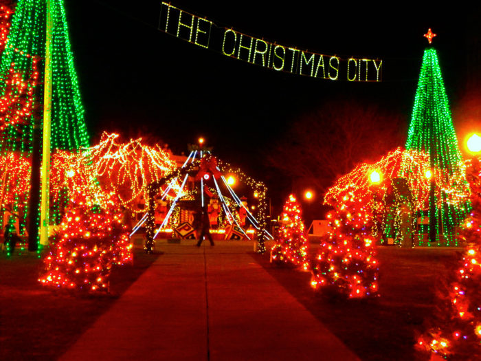 Lighting of the Green, Taunton - The Christmas Lights Road Trip Through Massachusetts That's Nothing