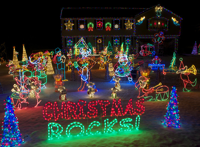 8 Best Christmas Light Displays In New Hampshire 2016 - Budweiser Christmas Lights