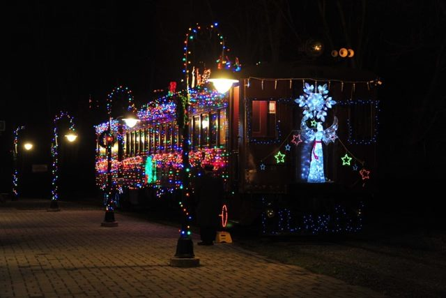 if you want to have a truly unique holiday experience take a ride on the wilmington and western railroad holiday lights express