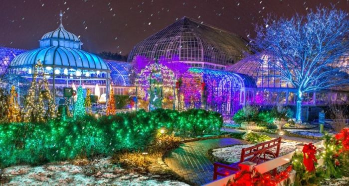 phipps conservatory botanical gardens 1 schenley drive pittsburgh pa 15213 - Drive Through Christmas Lights Pa