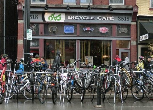 Cog Bike Cafe Menu