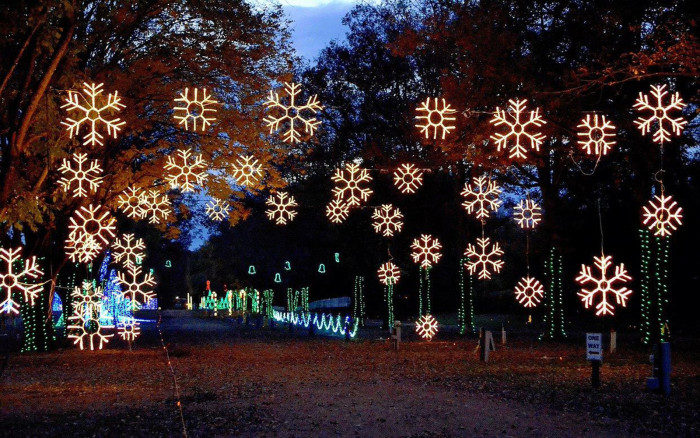 The Beautiful Christmas Lights Road Trip To Take In Nashville