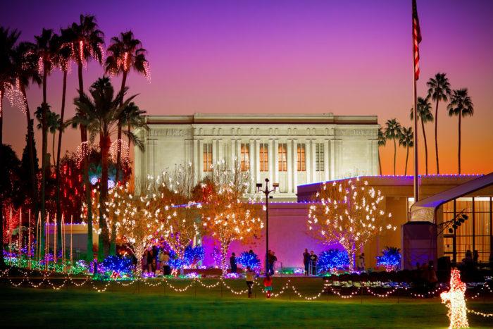 Christmas Lights Mesa Az