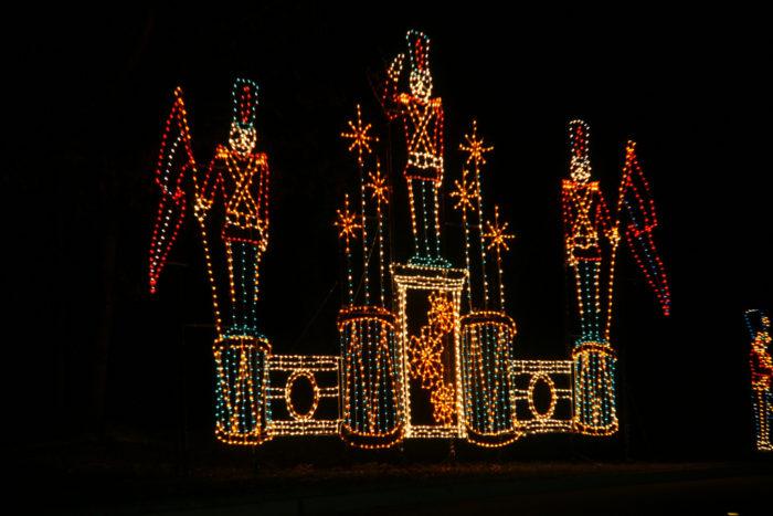Lake Lanier, Magical Night of Lights—Gainesville, Georgia - 9 Best Christmas Light Displays In Georgia 2016