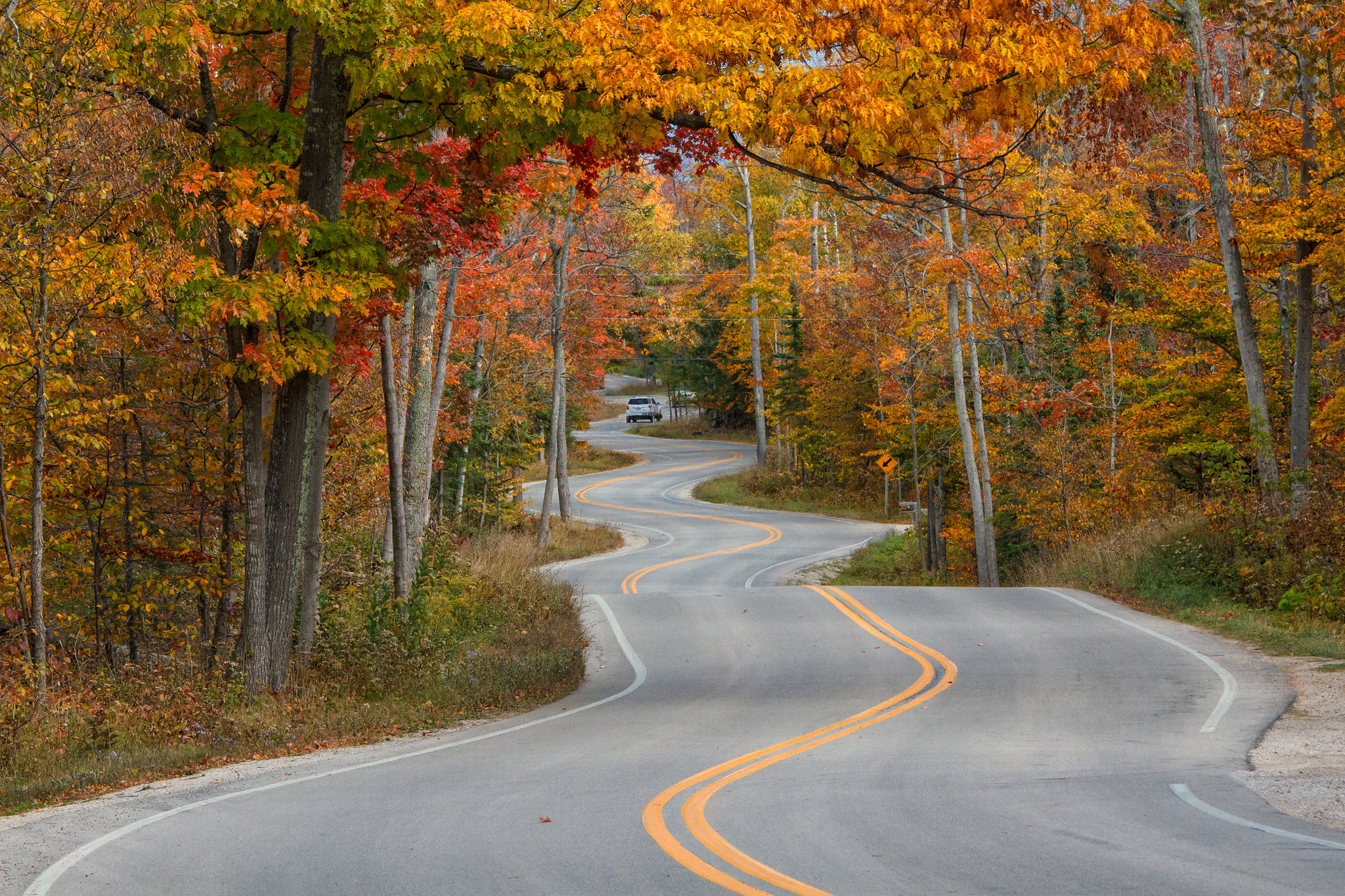 10 Rural Wisconsin Roads With the Best Views Of Fall ...