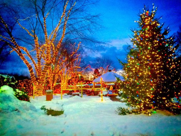 Yankee Candle Christmas Village, South Deerfield