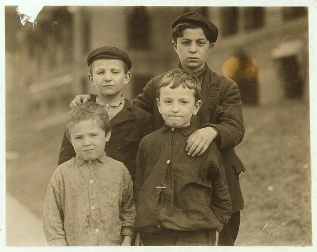 Boys ca. 1910