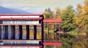 This Beautiful Covered Bridge In Idaho Is Actually A Market And You Need To Visit