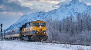 The Magical Holiday Train Ride In Alaska Everyone Should Experience At Least Once