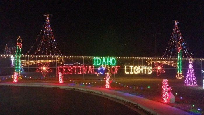 Idaho Festival of Lights Preston & 11 Best Christmas Light Displays In Idaho 2016