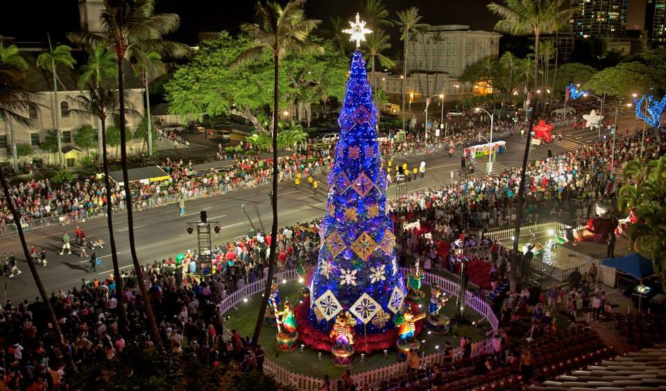 The Best Christmas Light Displays In Hawaii 2016