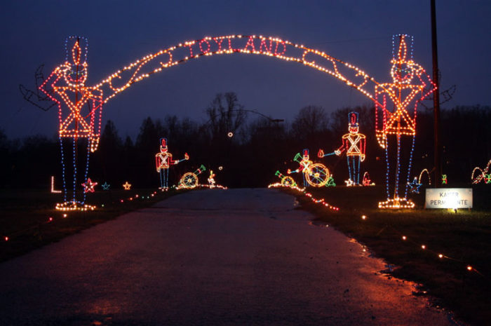 Magical Christmas Lights Road Trip In Maryland 2016