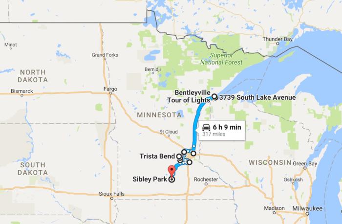 The 2016 Christmas Lights Road Trip Through Minnesota