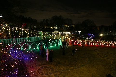 High Quality 12 Christmas Light Displays In Tennessee That Are Pure Magic