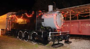 The Magical Polar Express Train Ride In Florida Everyone Should Experience At Least Once