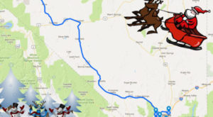 The Christmas Lights Road Trip Through Nevada That's Nothing Short Of Magical